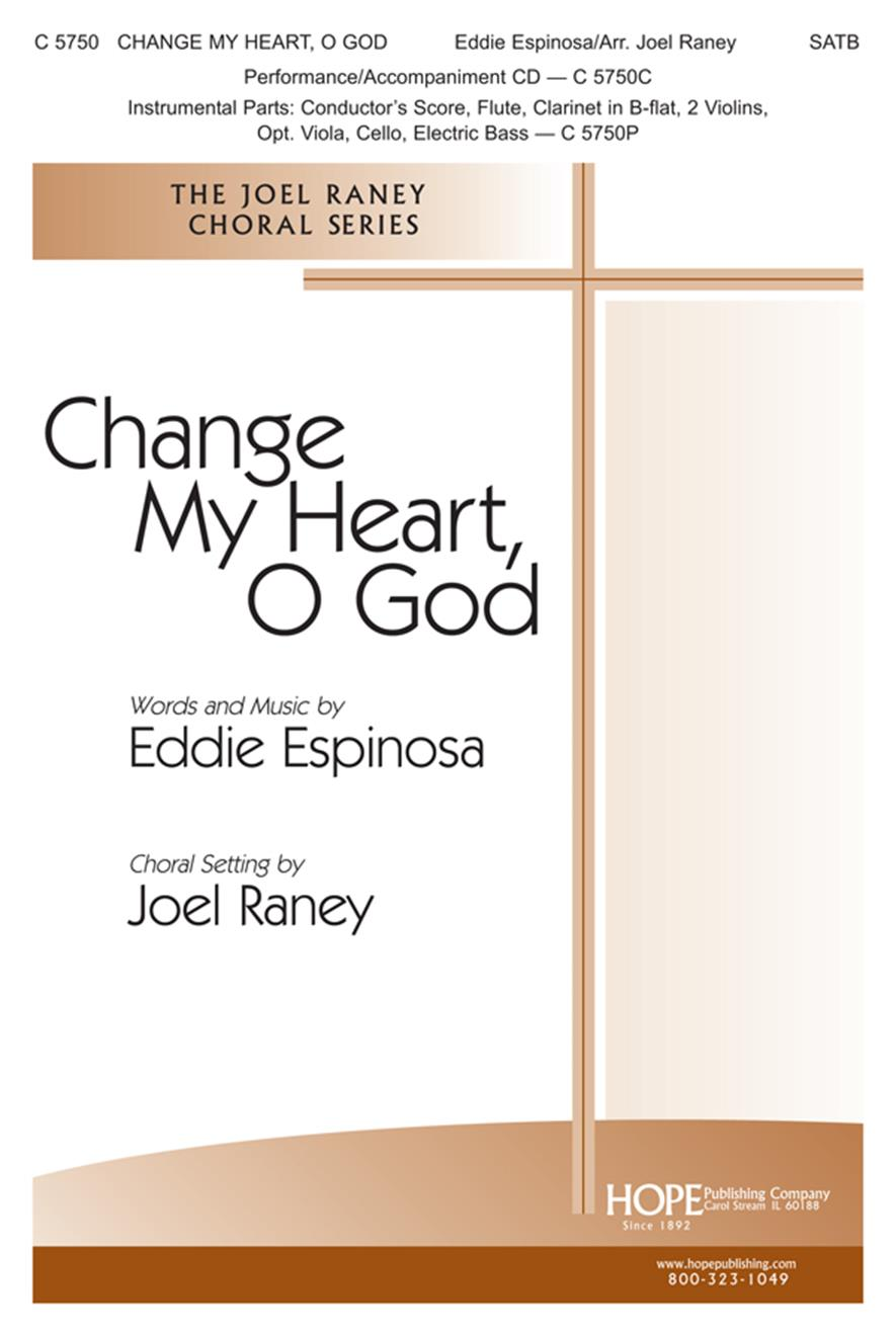 Change My Heart O God w-Search Me O God - SATB Cover Image