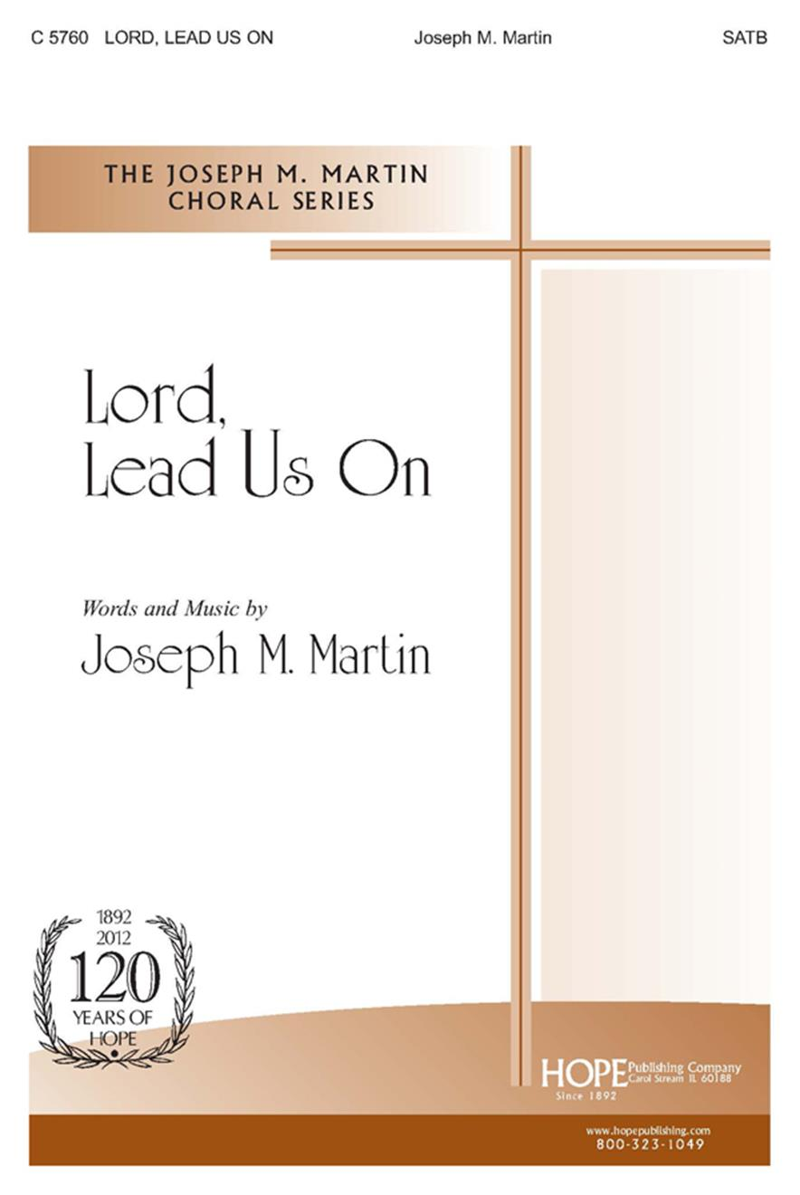 Lord Lead Us On - SATB Cover Image