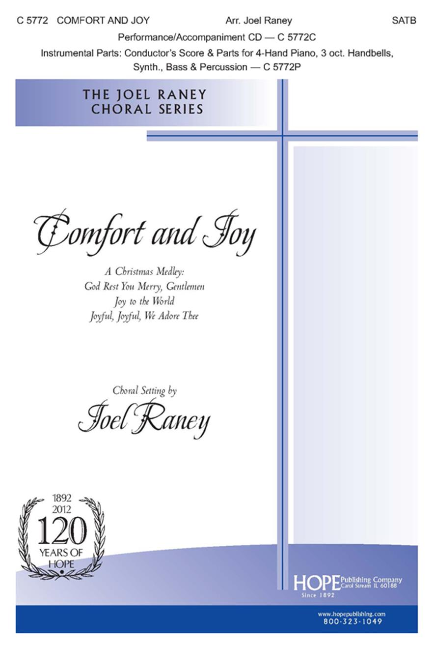 Comfort and Joy - SATB Cover Image