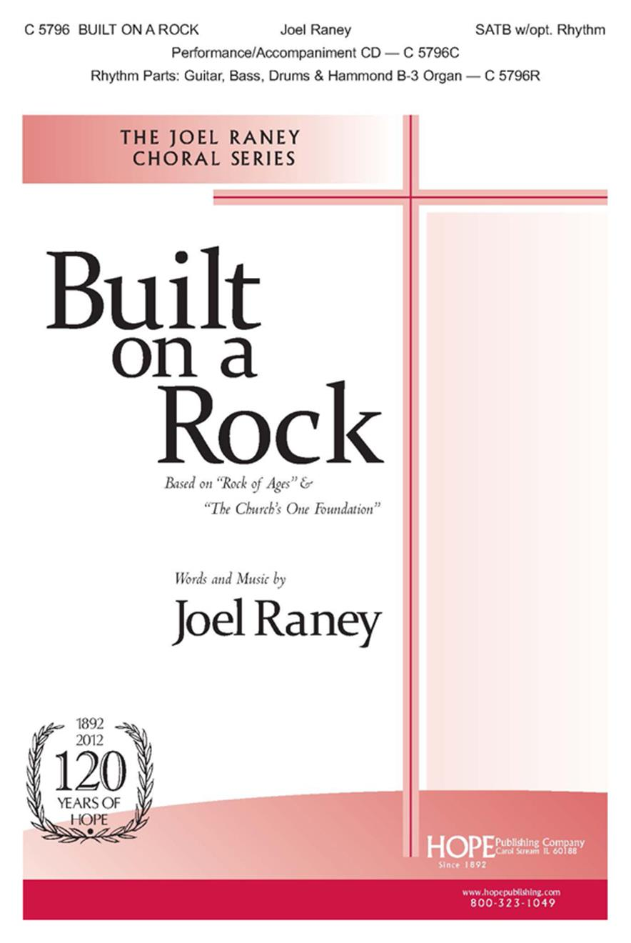 Built on a Rock - SATB w-opt. Rhythm Cover Image
