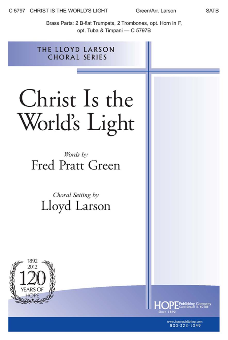 Christ Is the World's Light - SATB Cover Image