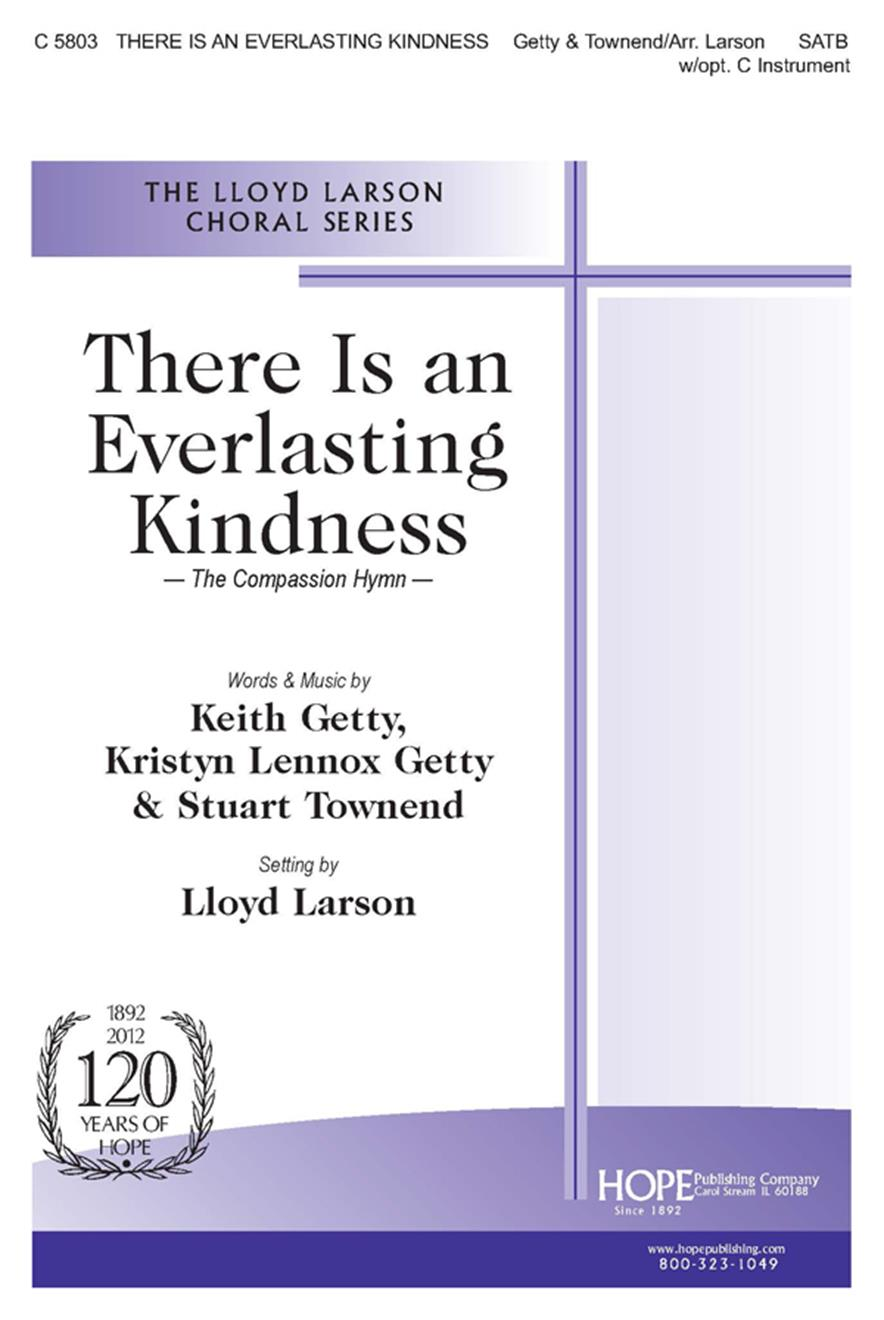 There Is an Everlasting Kindness (The Compassion Hymn) - SATB w-opt. Violin Cover Image