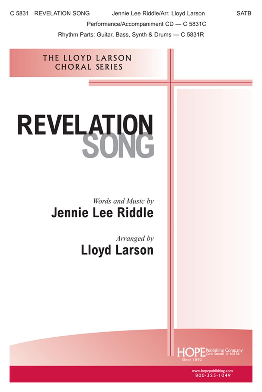 Revelation Song - SATB Cover Image