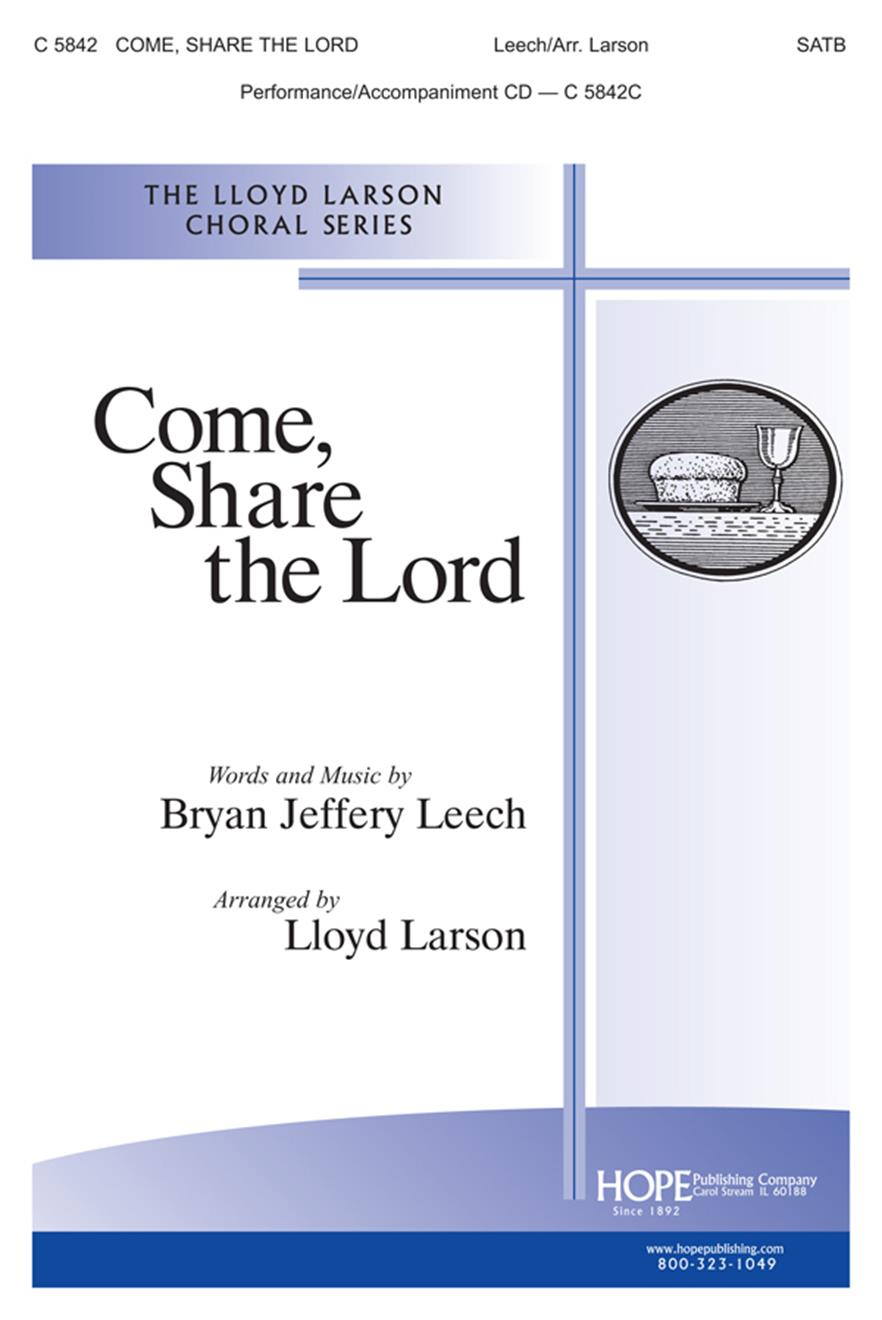 Come Share the Lord - SATB Cover Image