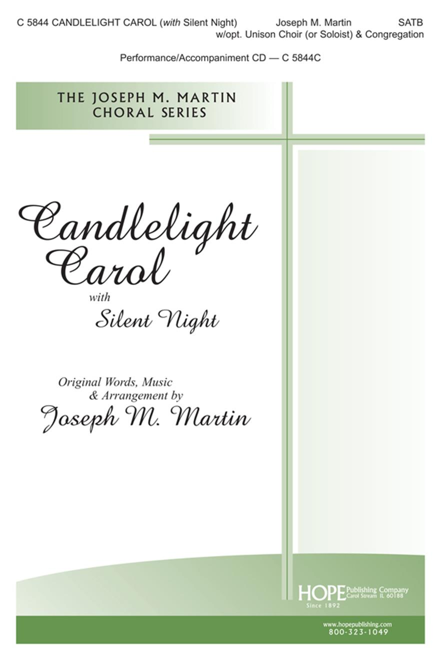 Candlelight Carol (with Silent Night) - SATB Cover Image