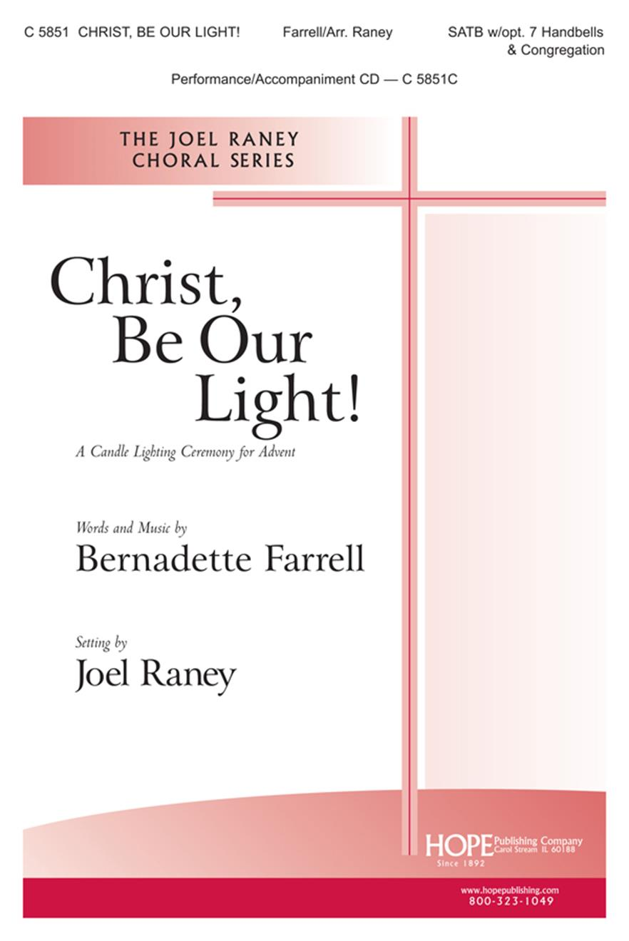 Christ Be Our Light - SATB w-opt. 7 Handbells and Cong. Cover Image