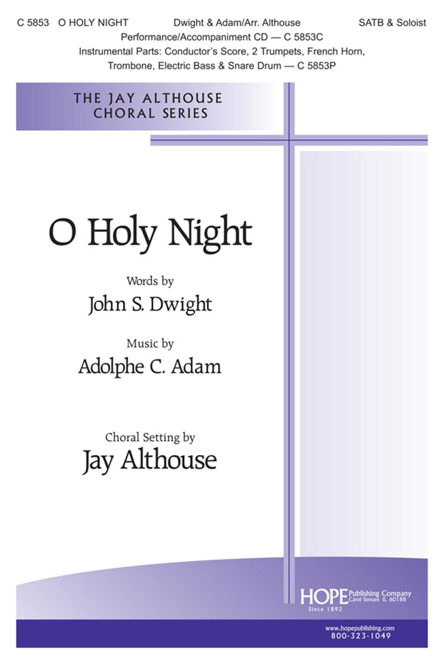 O Holy Night - SATB and Soloist Cover Image