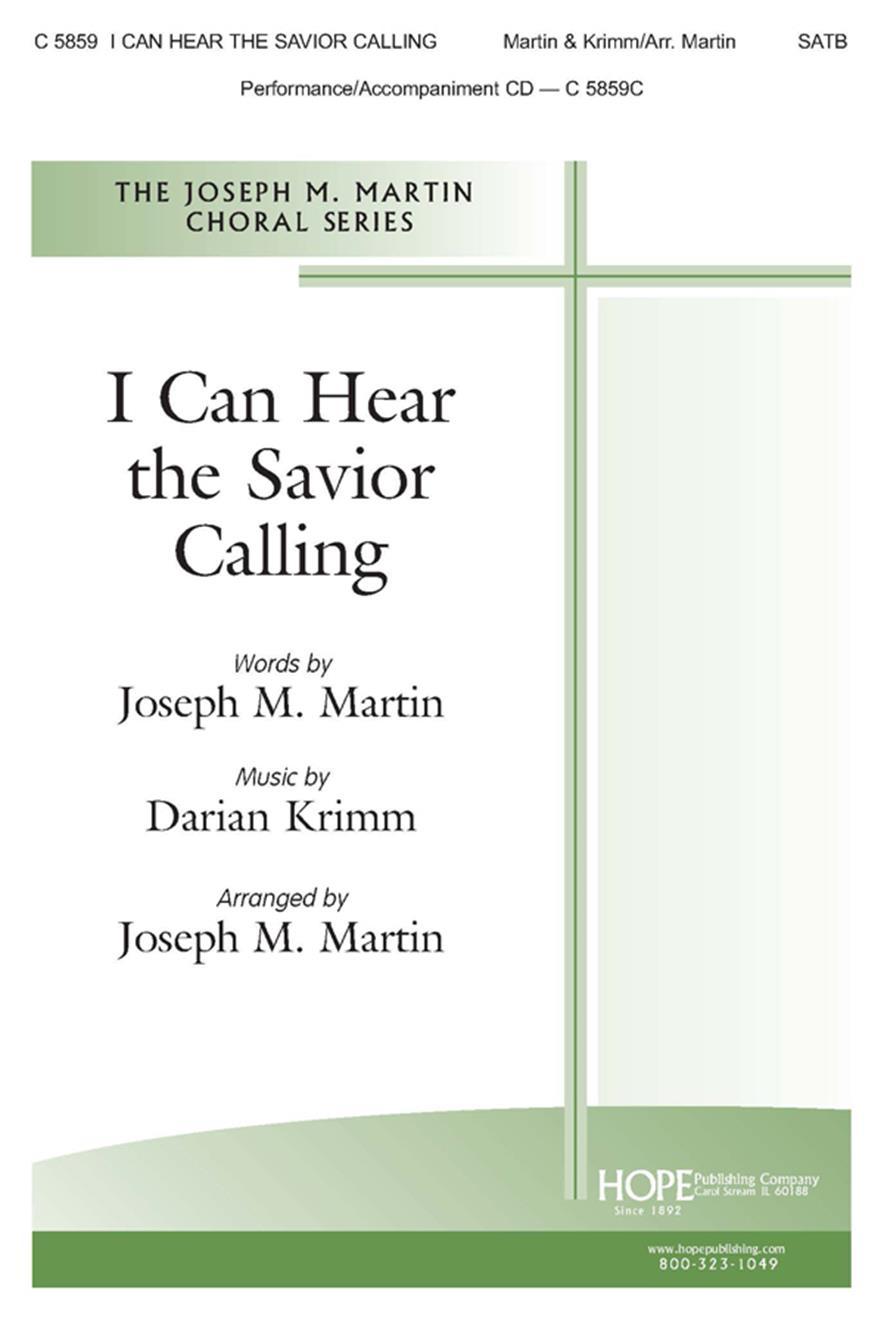 I Can Hear the Savior Calling - SATB Cover Image
