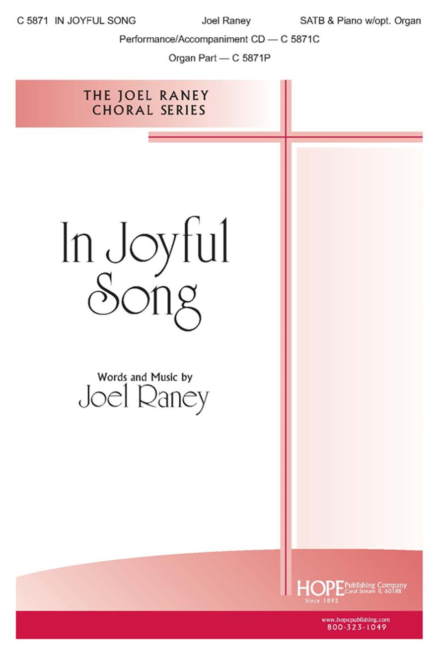 In Joyful Song - SATB and Piano w-opt. Organ Cover Image