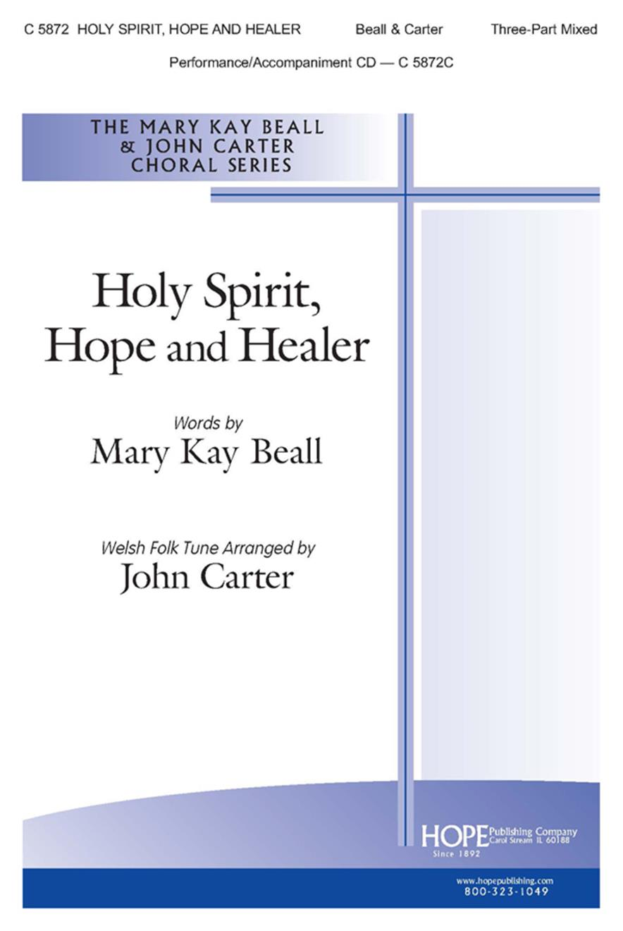 Holy Spirit Hope and Healer - 3-Part Mixed Cover Image
