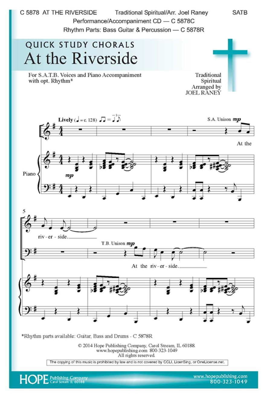At the Riverside - SATB Cover Image
