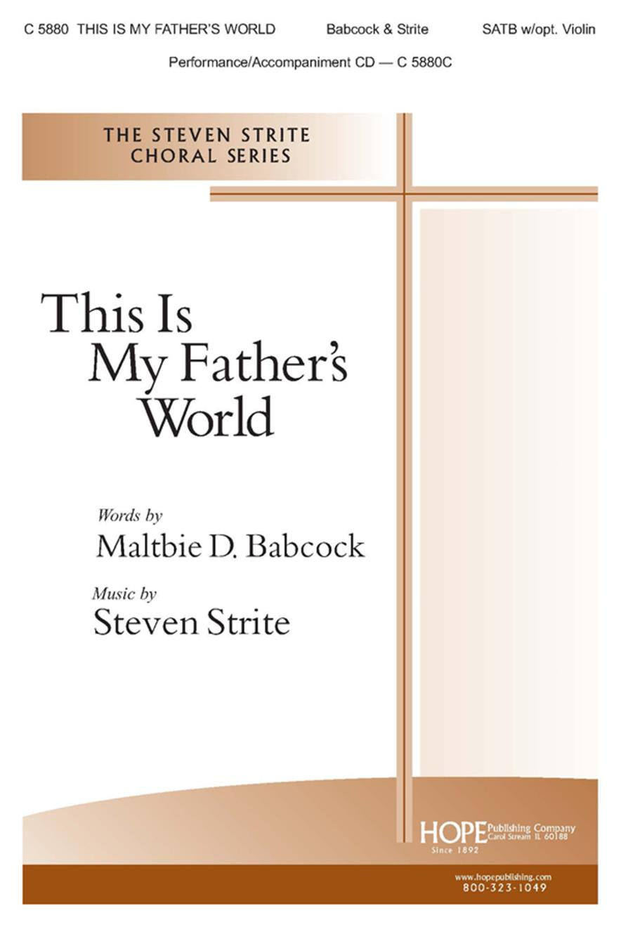 This Is My Father's World - SATB Cover Image