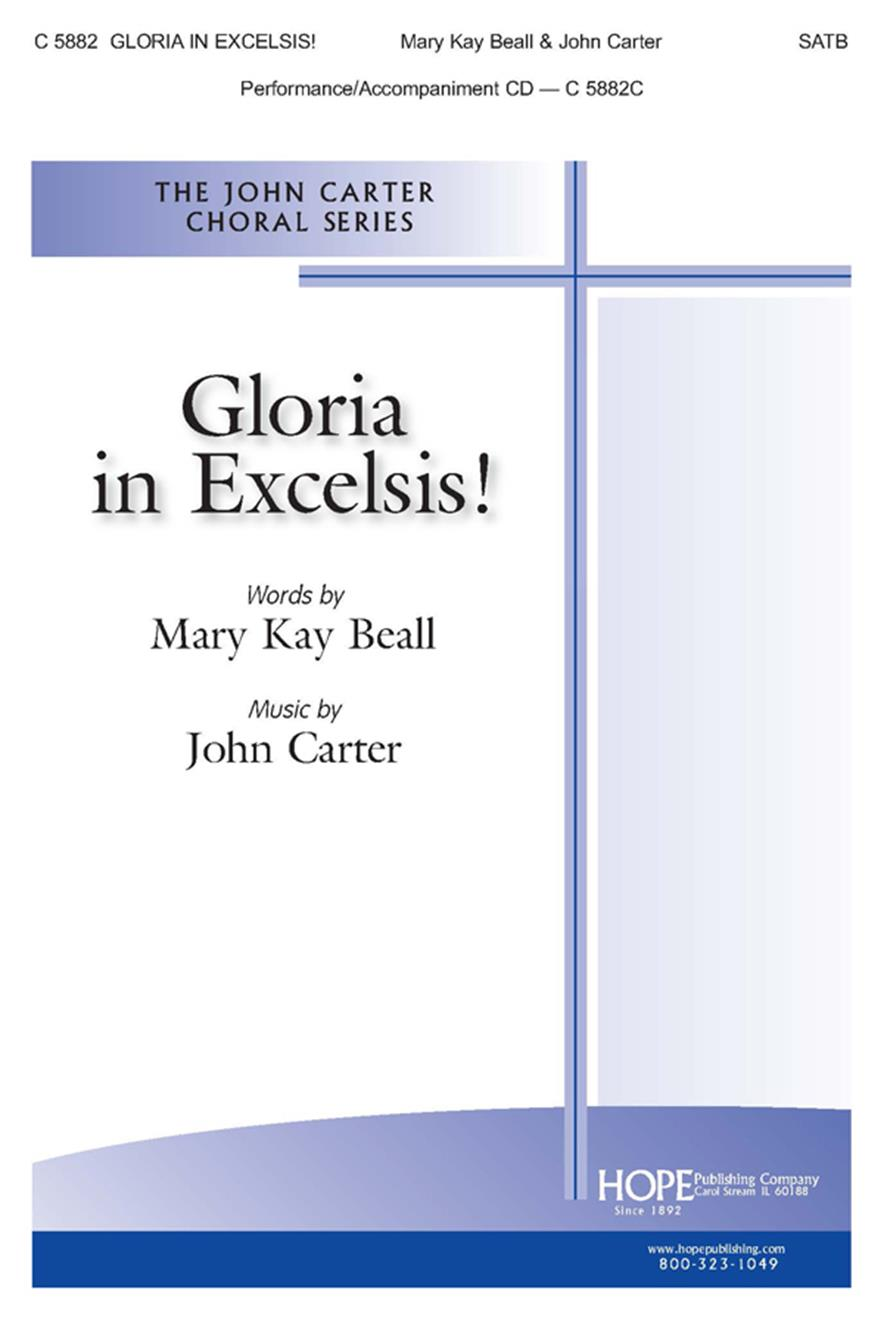 Gloria in Excelsis - SATB Cover Image