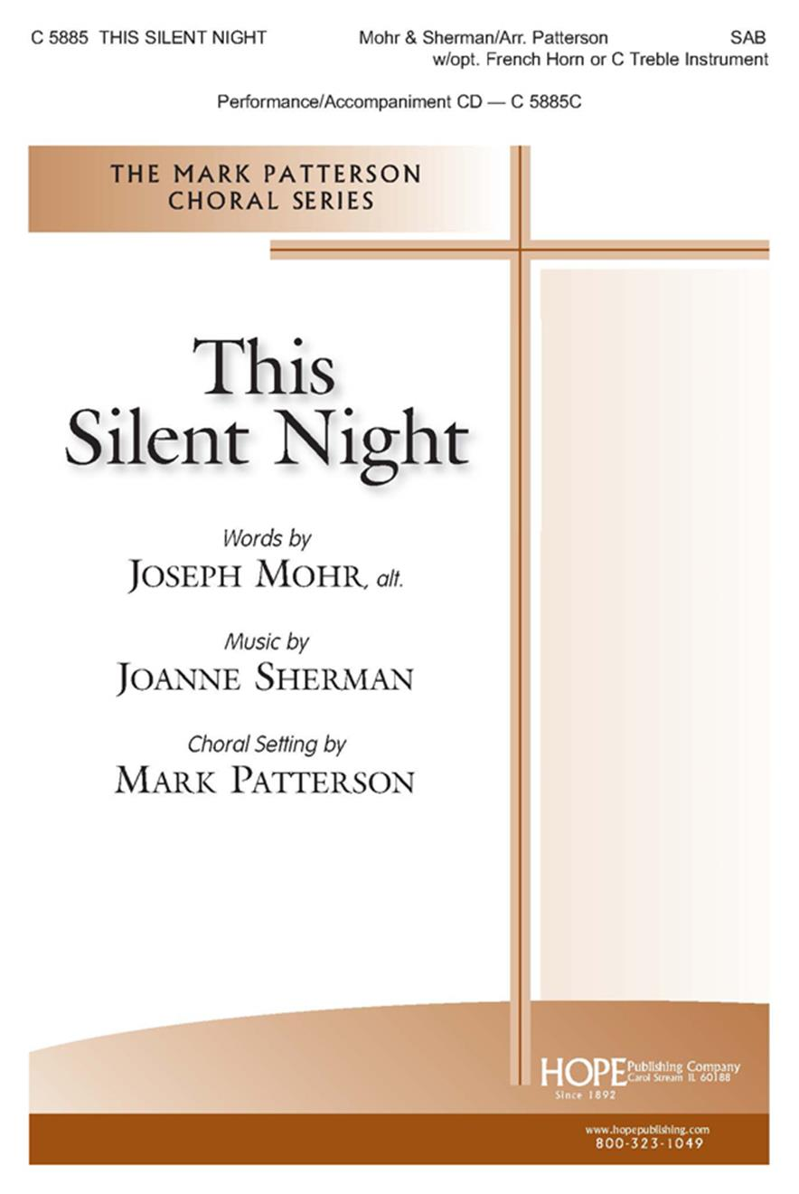 This Silent Night - SAB w-opt. French Horn or C Treble Instr. (included) Cover Image