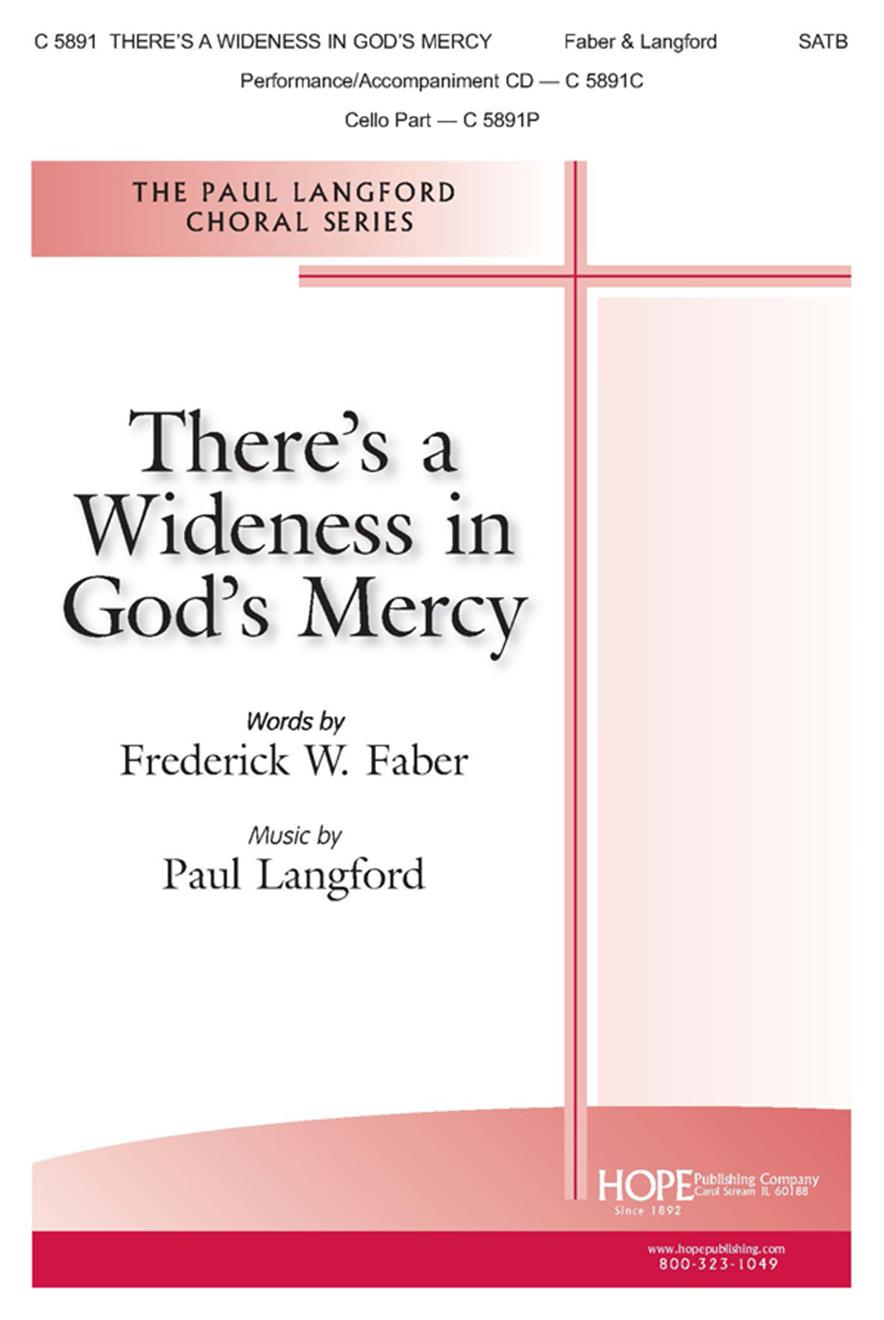 There's a Wideness in God's Mercy - SATB Cover Image