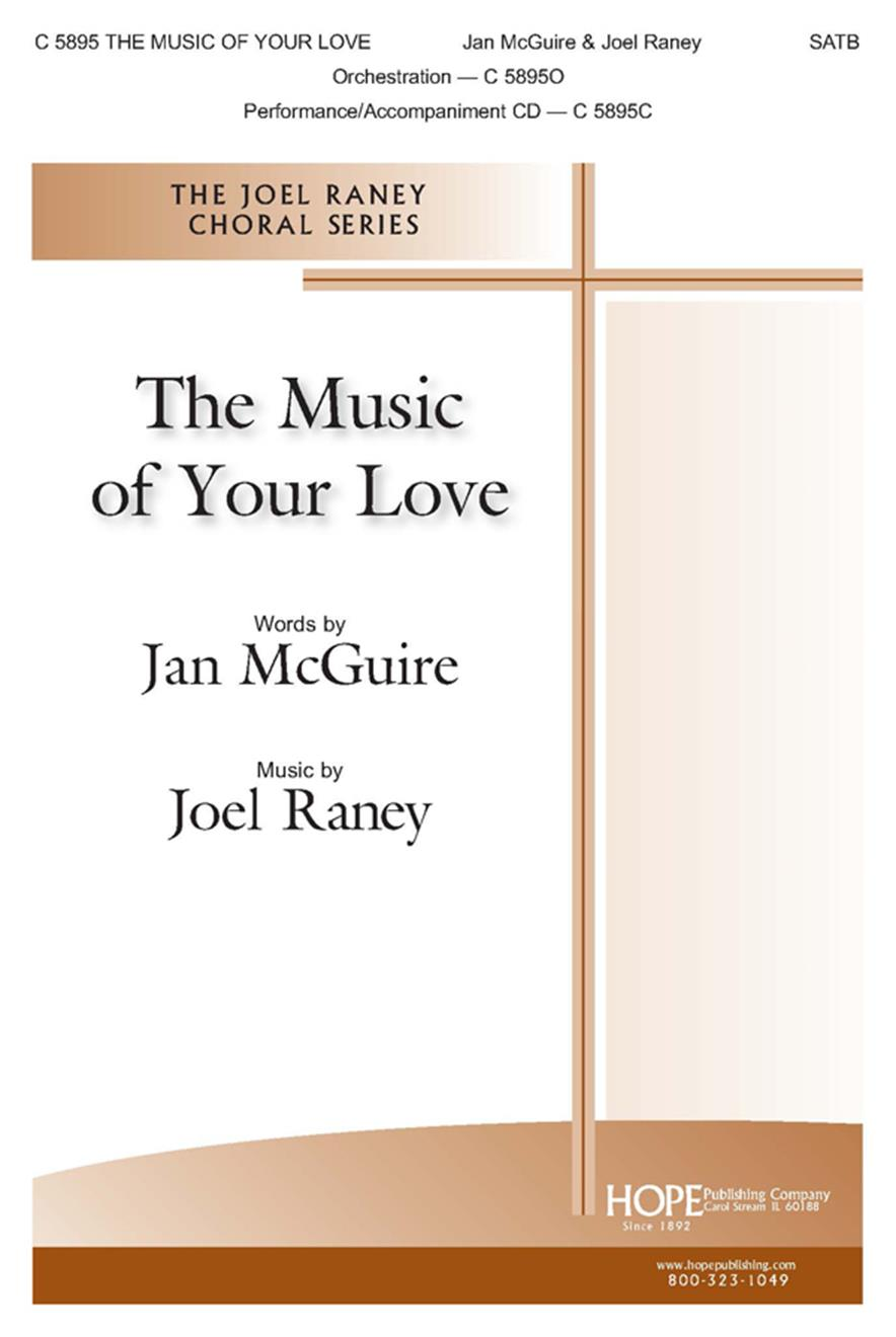 Music of Your Love The - SATB Cover Image