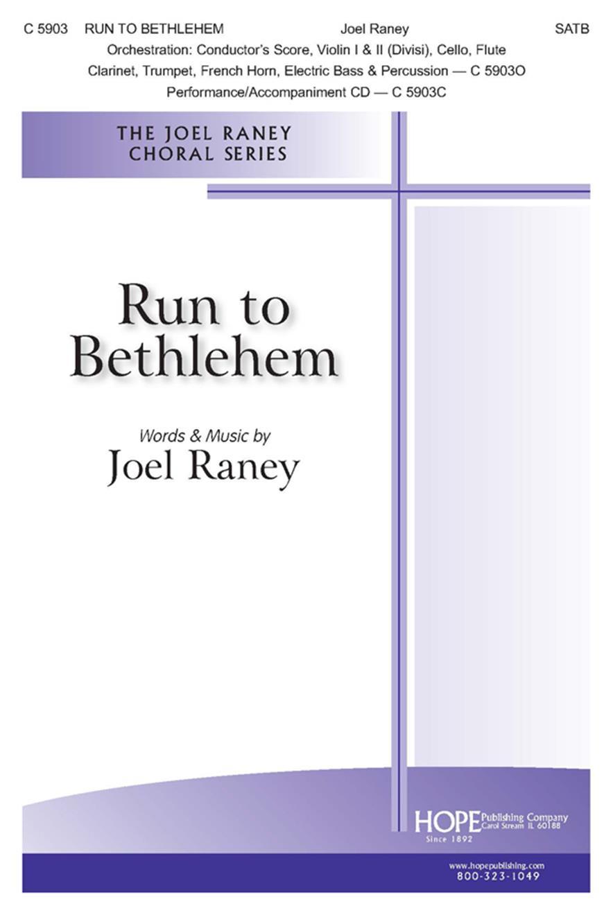 Run to Bethlehem - SATB Cover Image