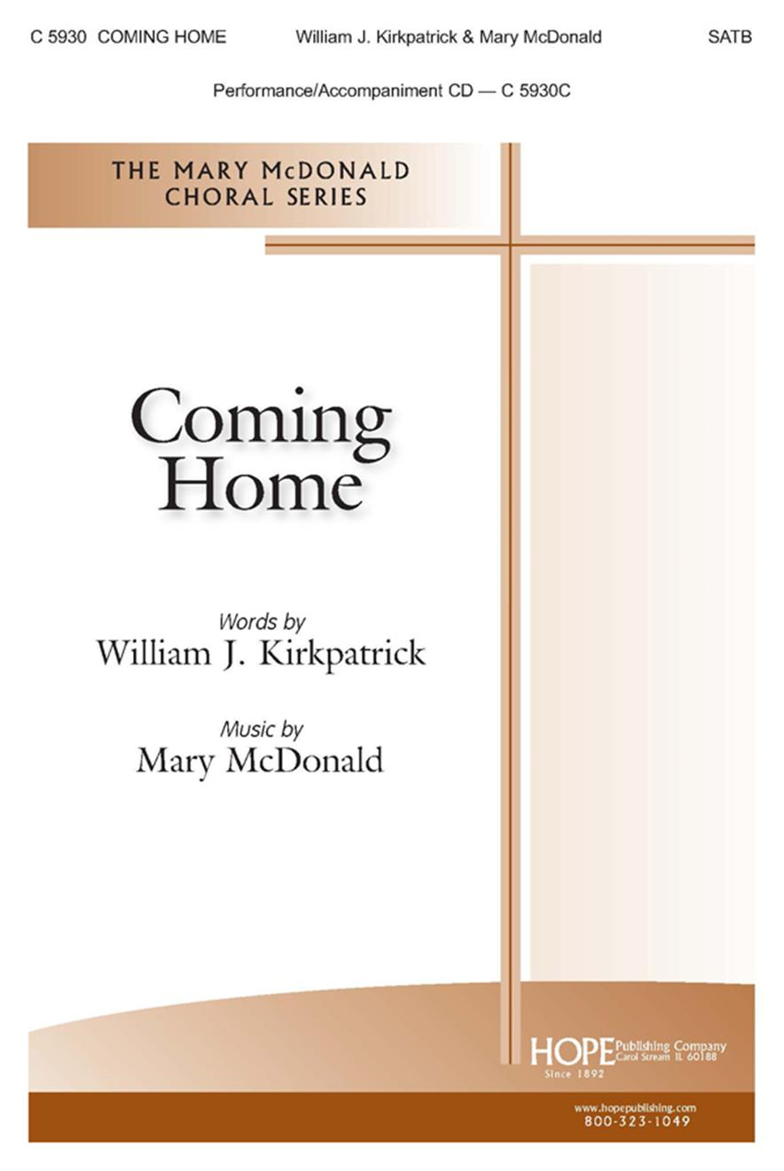 Coming Home - SATB Cover Image