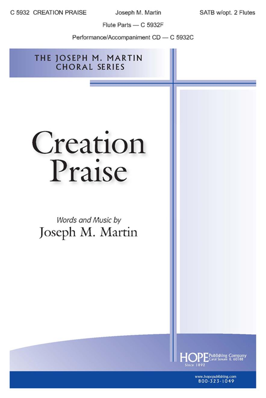 Creation Praise - SATB w-opt. 2 Flutes Cover Image