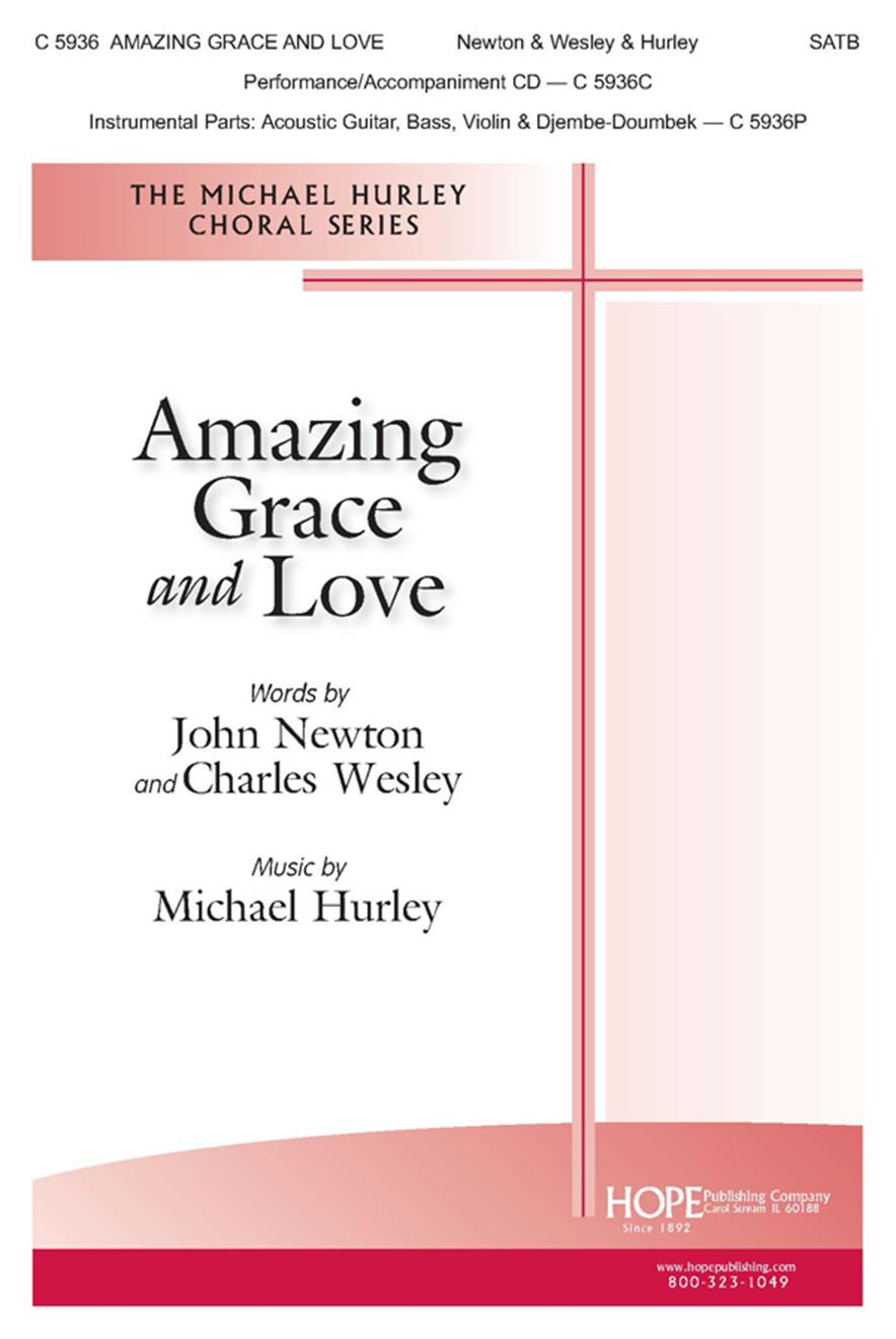 Amazing Grace and Love - SATB w-opt. Instruments Cover Image