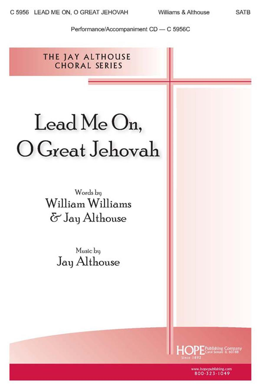 Lead Me On O Great Jehovah - SATB Cover Image