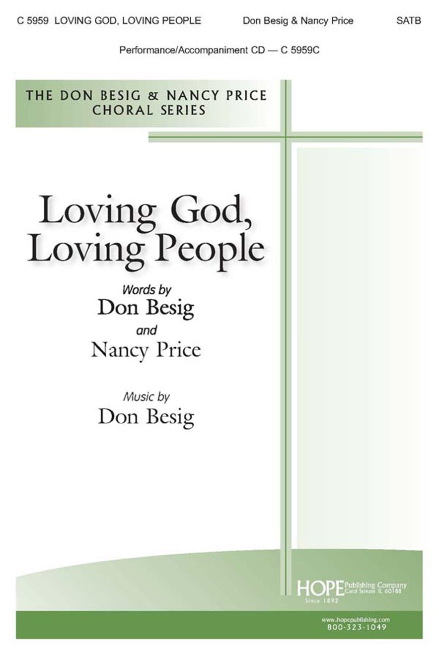 Loving God Loving People - SATB w-opt. Bass Shaker and Claves (included) Cover Image