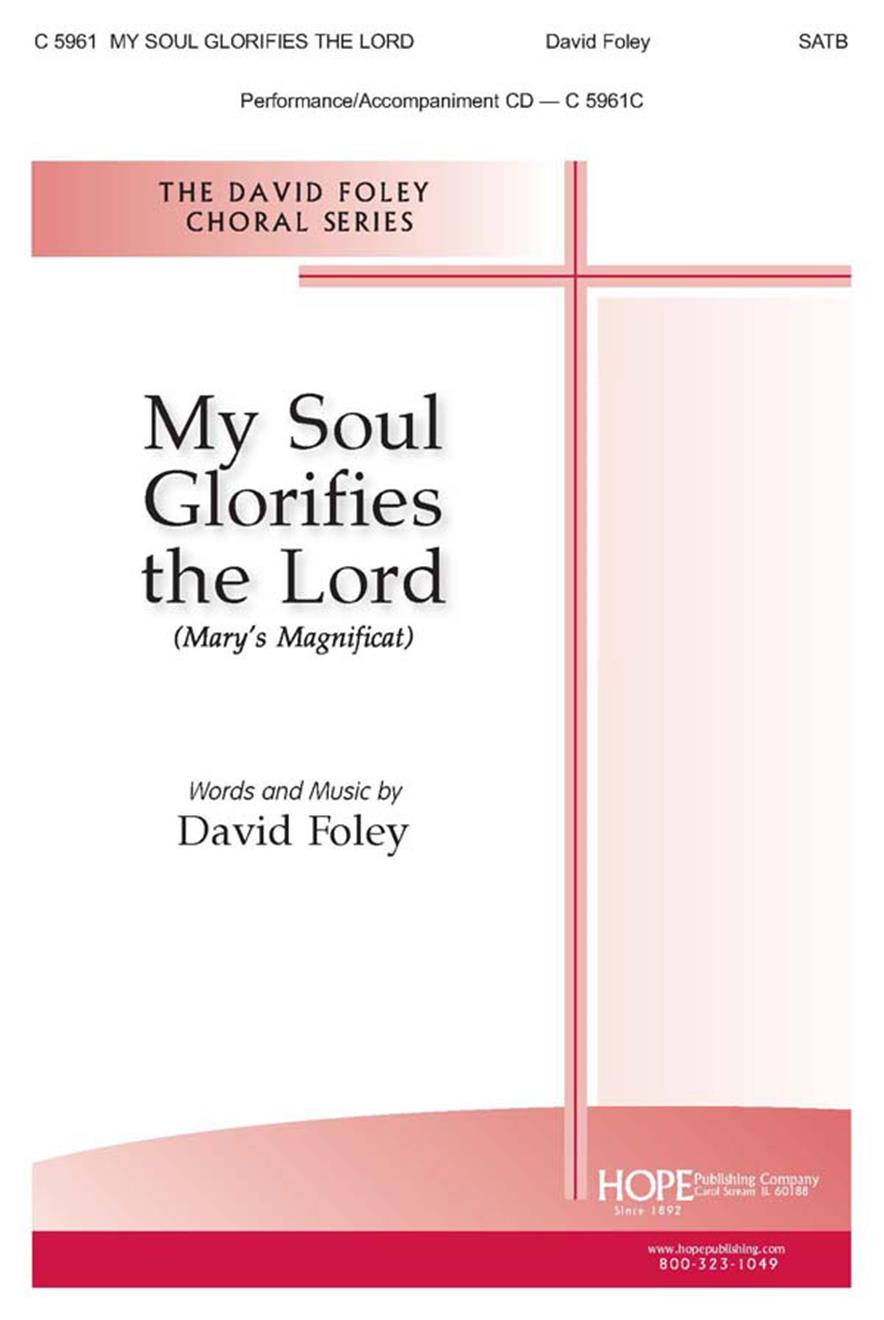 My Soul Glorifies the Lord (Mary's Magnificat) - SATB Cover Image