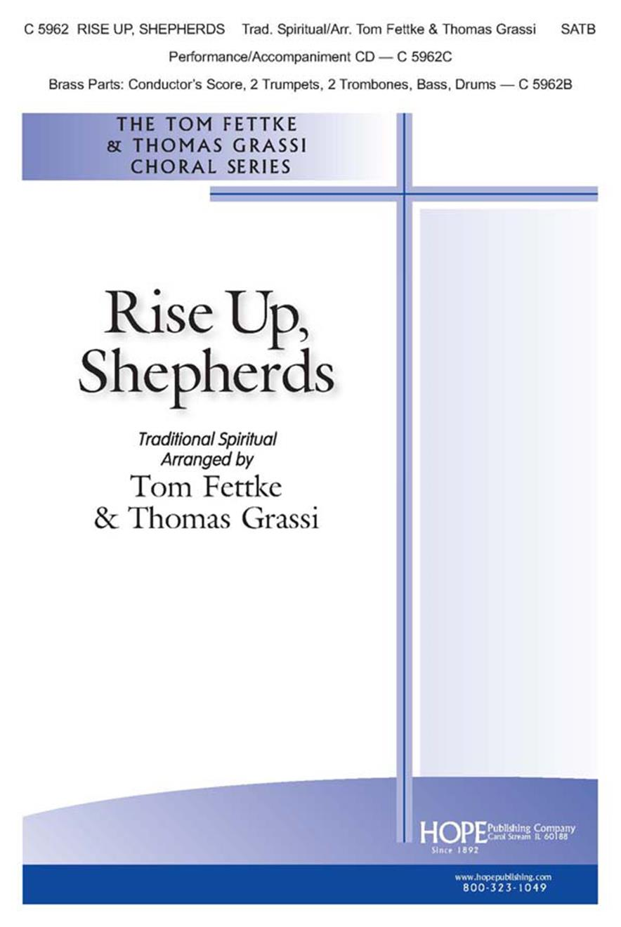 Rise Up Shepherds - SATB Cover Image