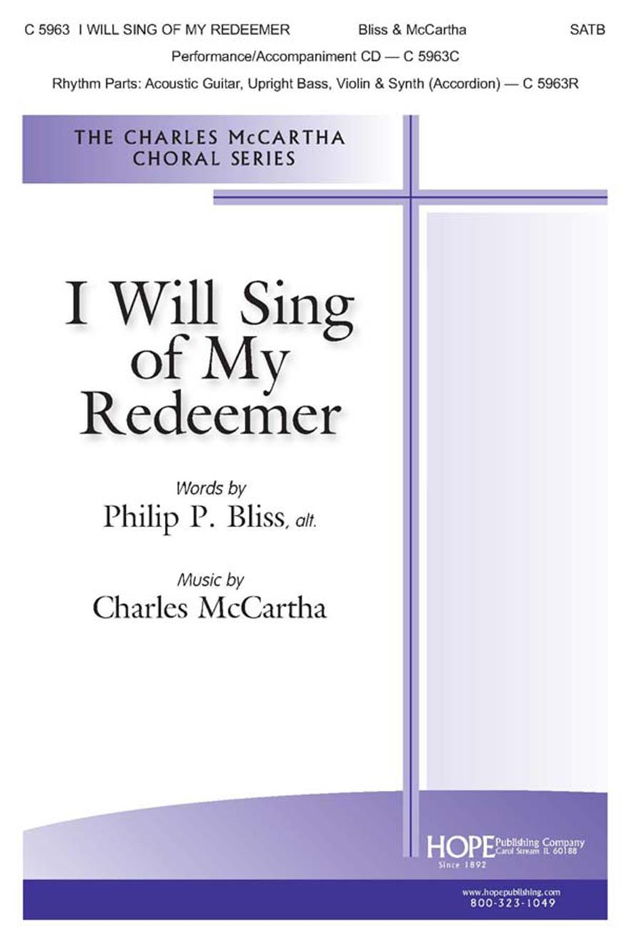 I Will Sing of My Redeemer - SATB Cover Image