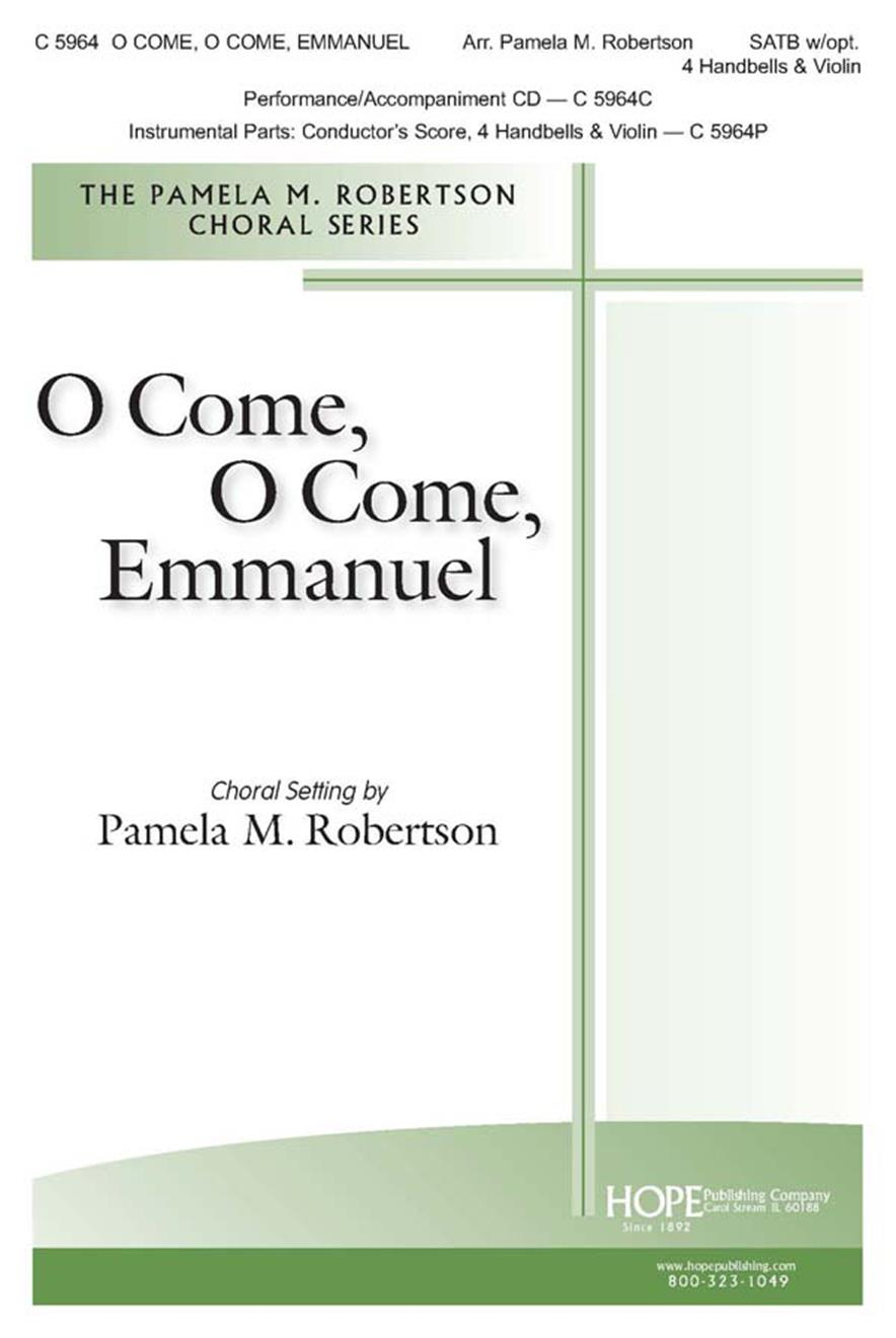 O Come O Come Emmanuel - SATB w-opt. 4 Handbells and Violin Cover Image