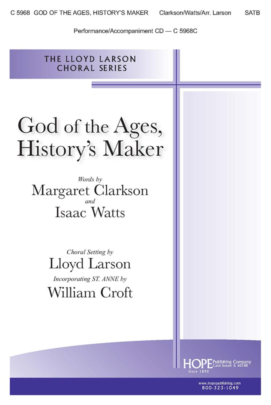 God of the Ages History's Maker - SATB Cover Image