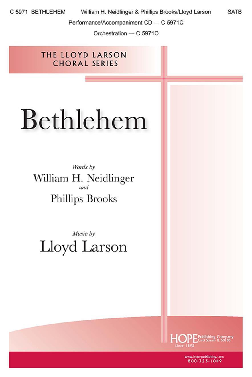 Bethlehem - SATB Cover Image