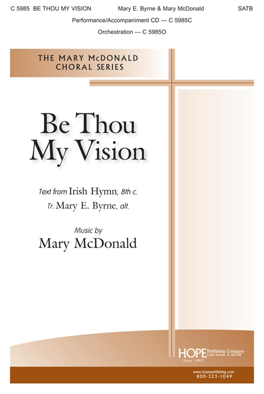 Be Thou  My Vision - SATB Cover Image