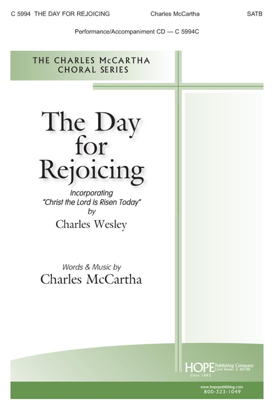 Day for Rejoicing The - SATB Cover Image