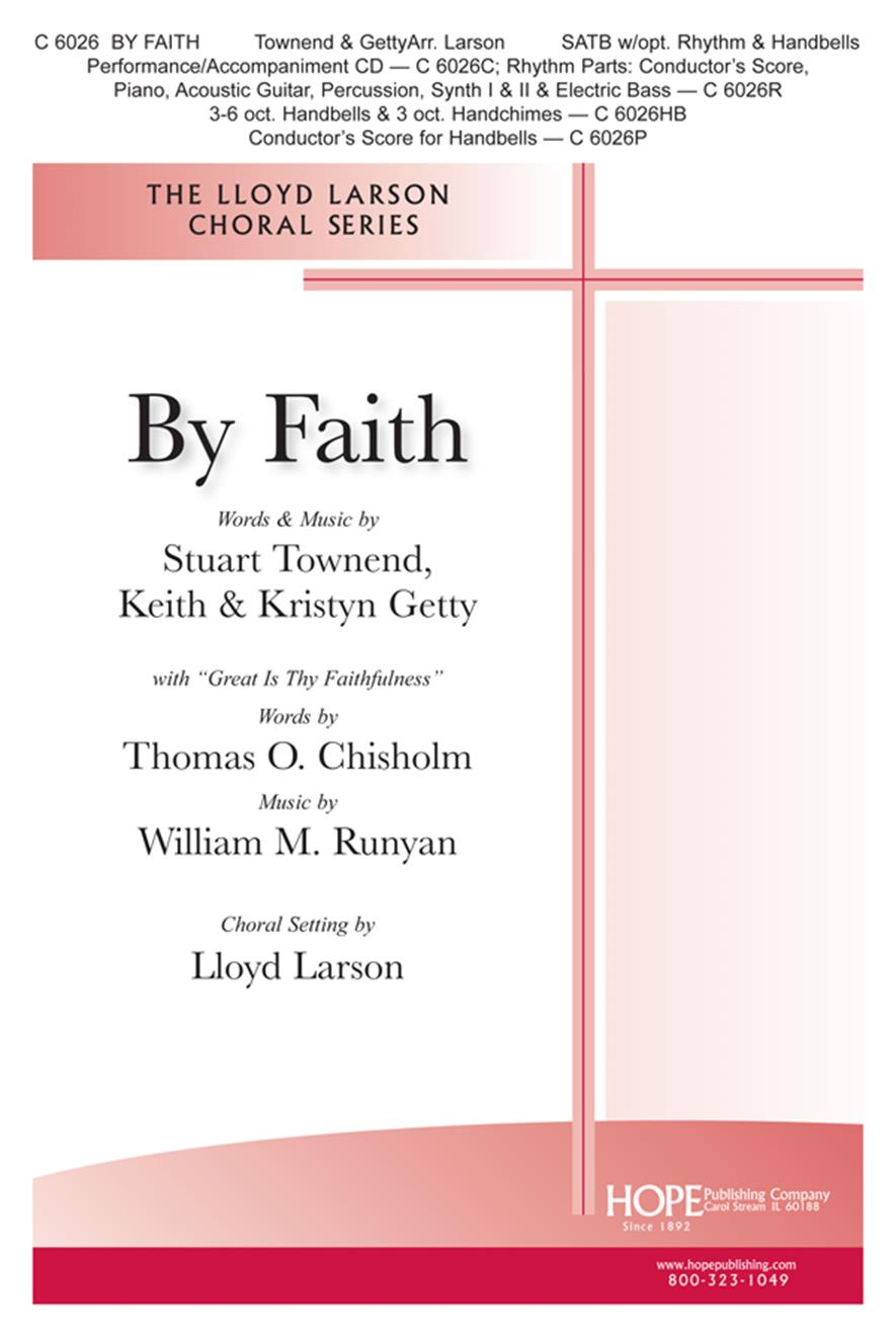 By Faith - SATB Cover Image