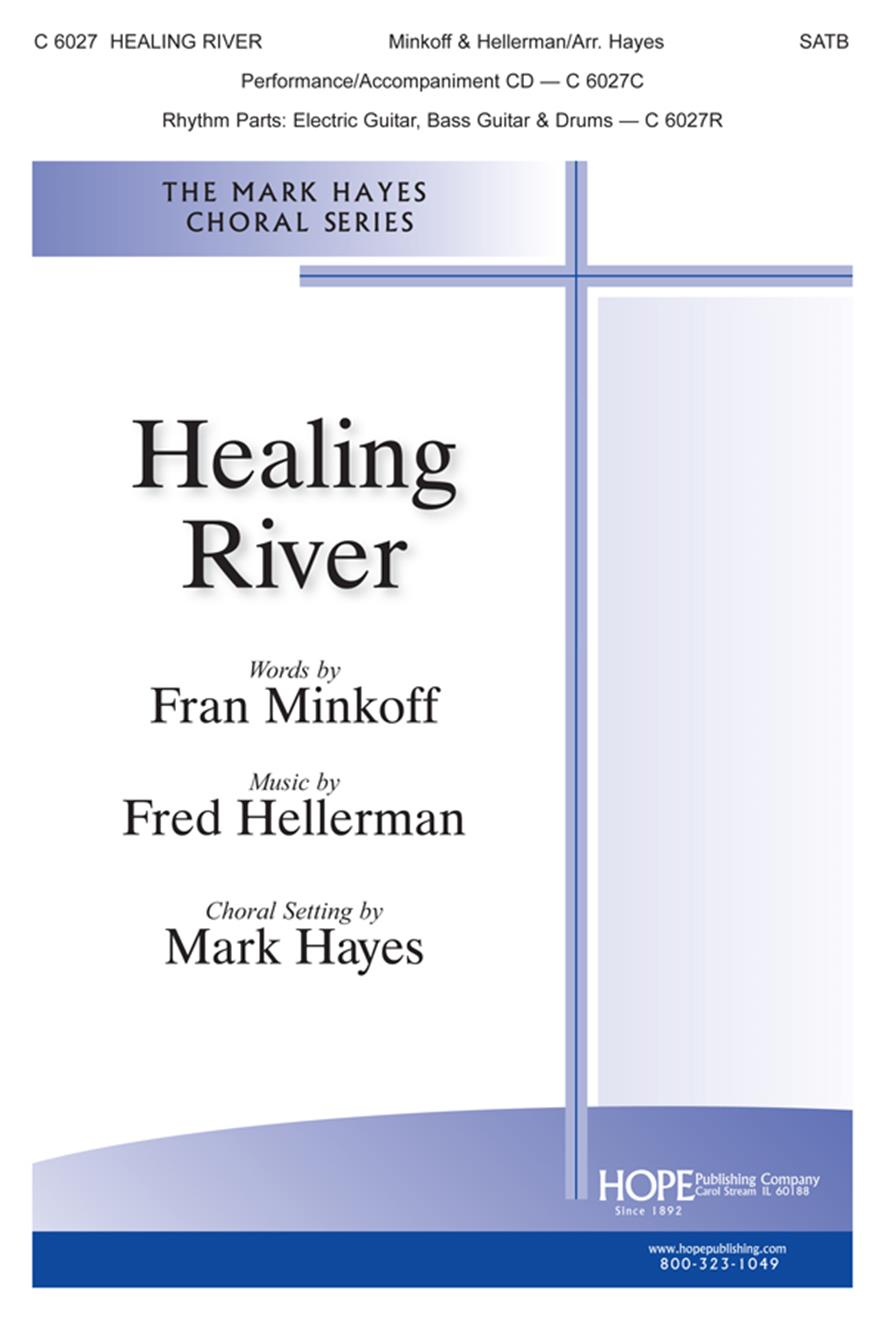 Healing River - SATB w-opt. Rhythm Cover Image