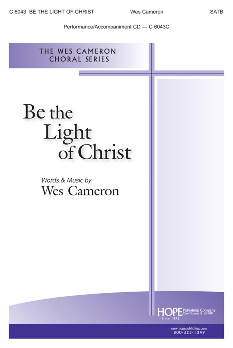 Be the Light of Christ - SATB Cover Image