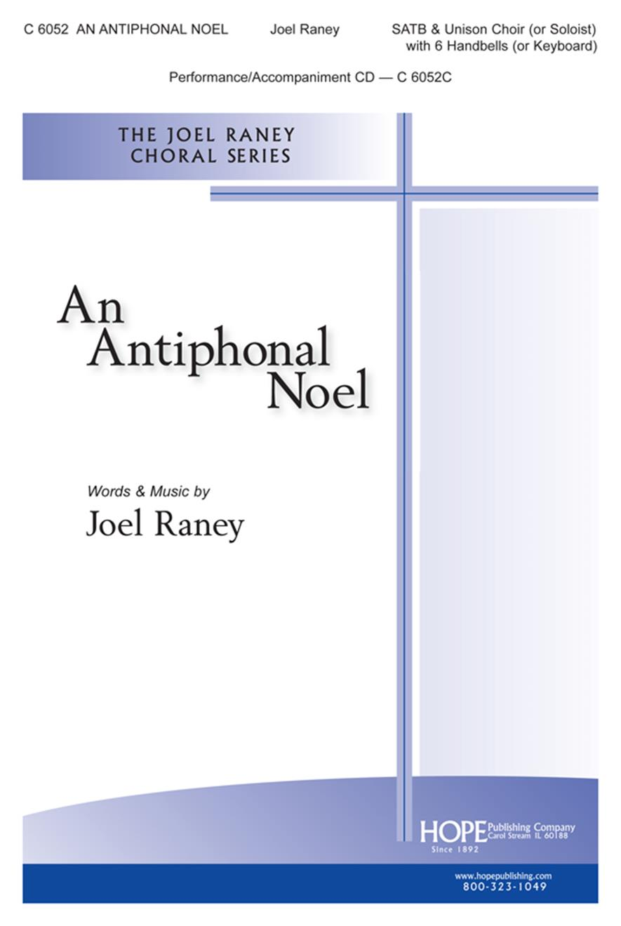 Antiphonal Noel An - SATB and Unison (or Soloist) w-6 Handbells (or Keyboard) Cover Image