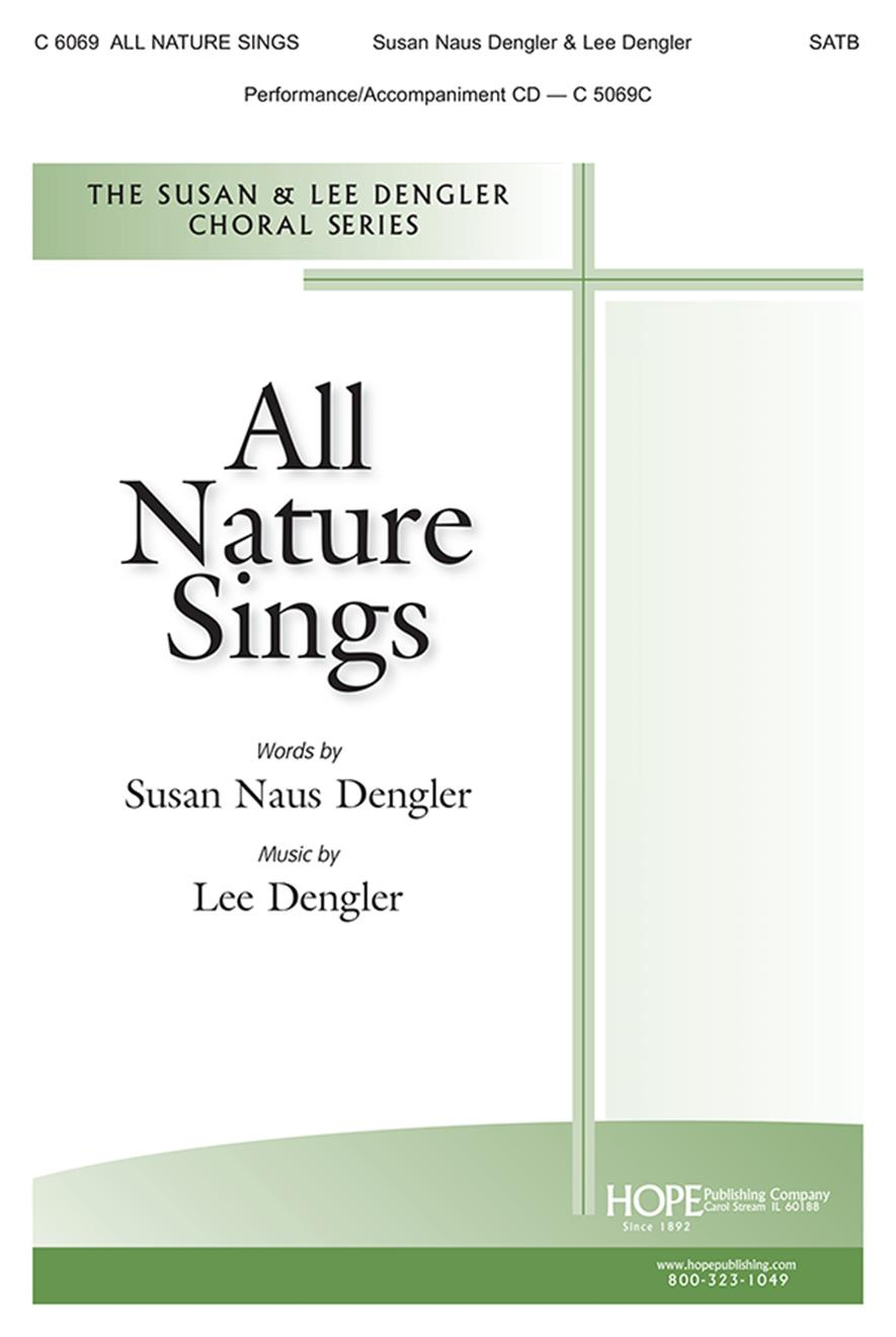All Nature Sings-SATB Cover Image