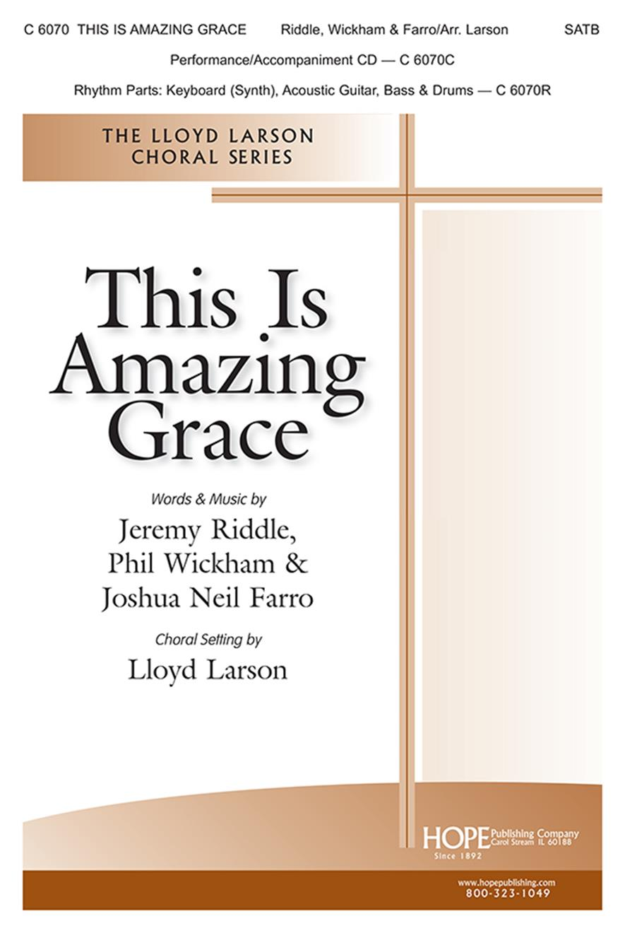 This Is Amazing Grace-SATB Cover Image