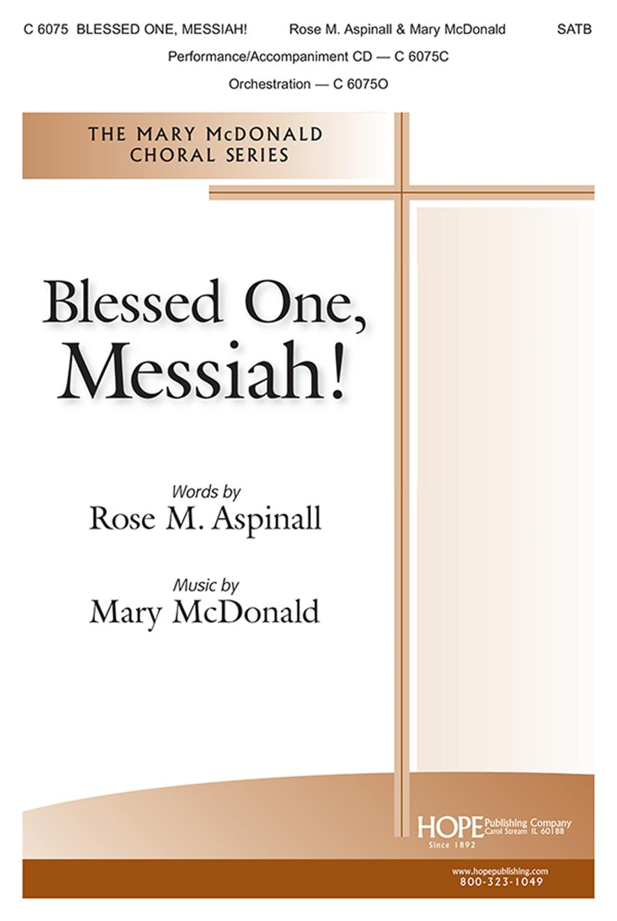 Blessed One Messiah-SATB Cover Image