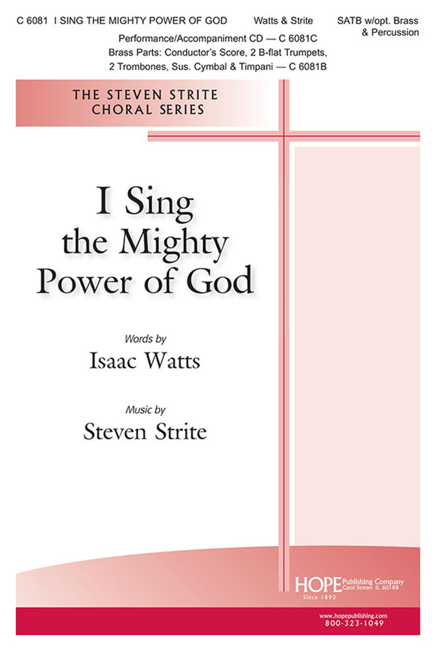 I Sing the Mighty Power of God - SATB Cover Image