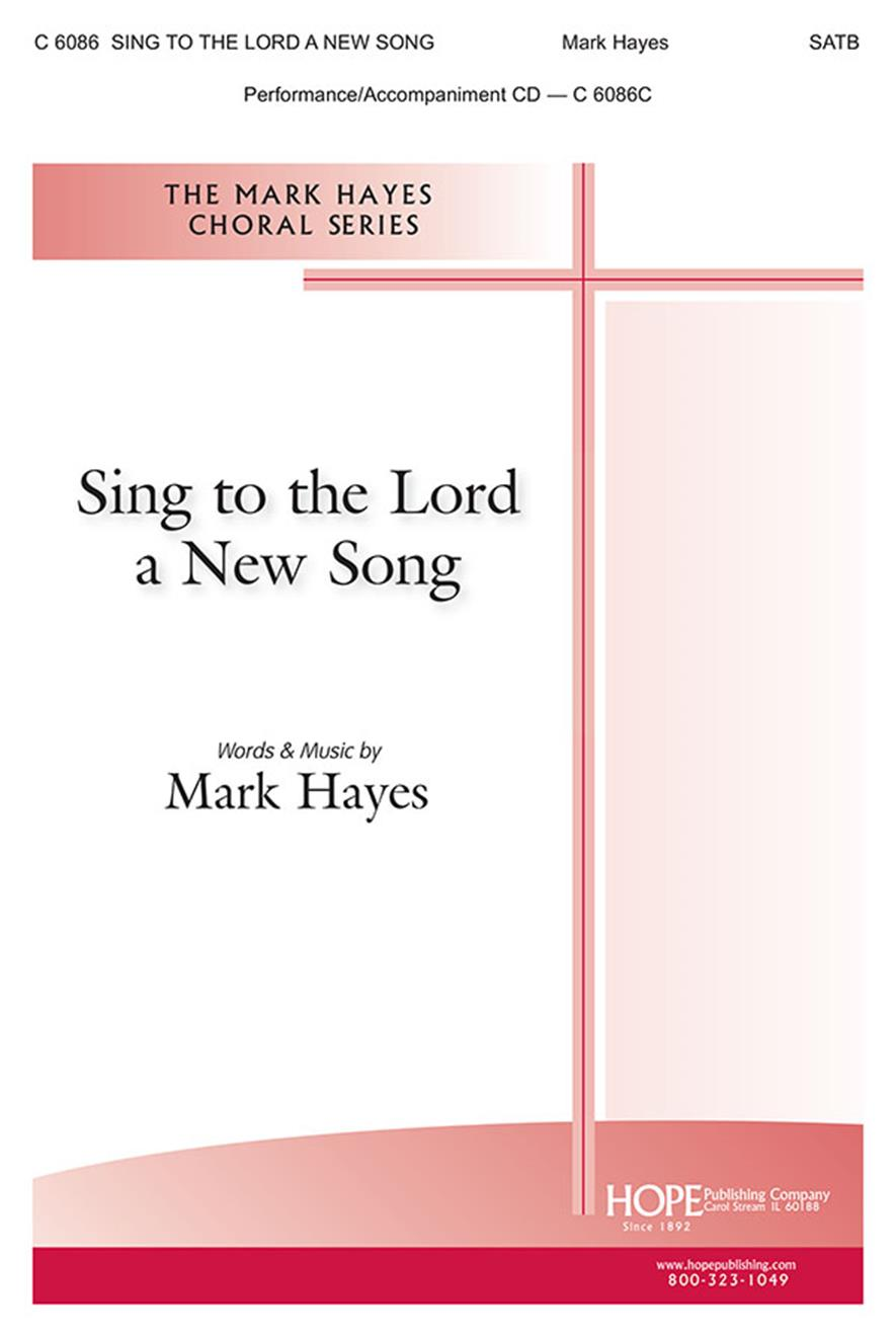 Sing to the Lord a New Song - SATB Cover Image