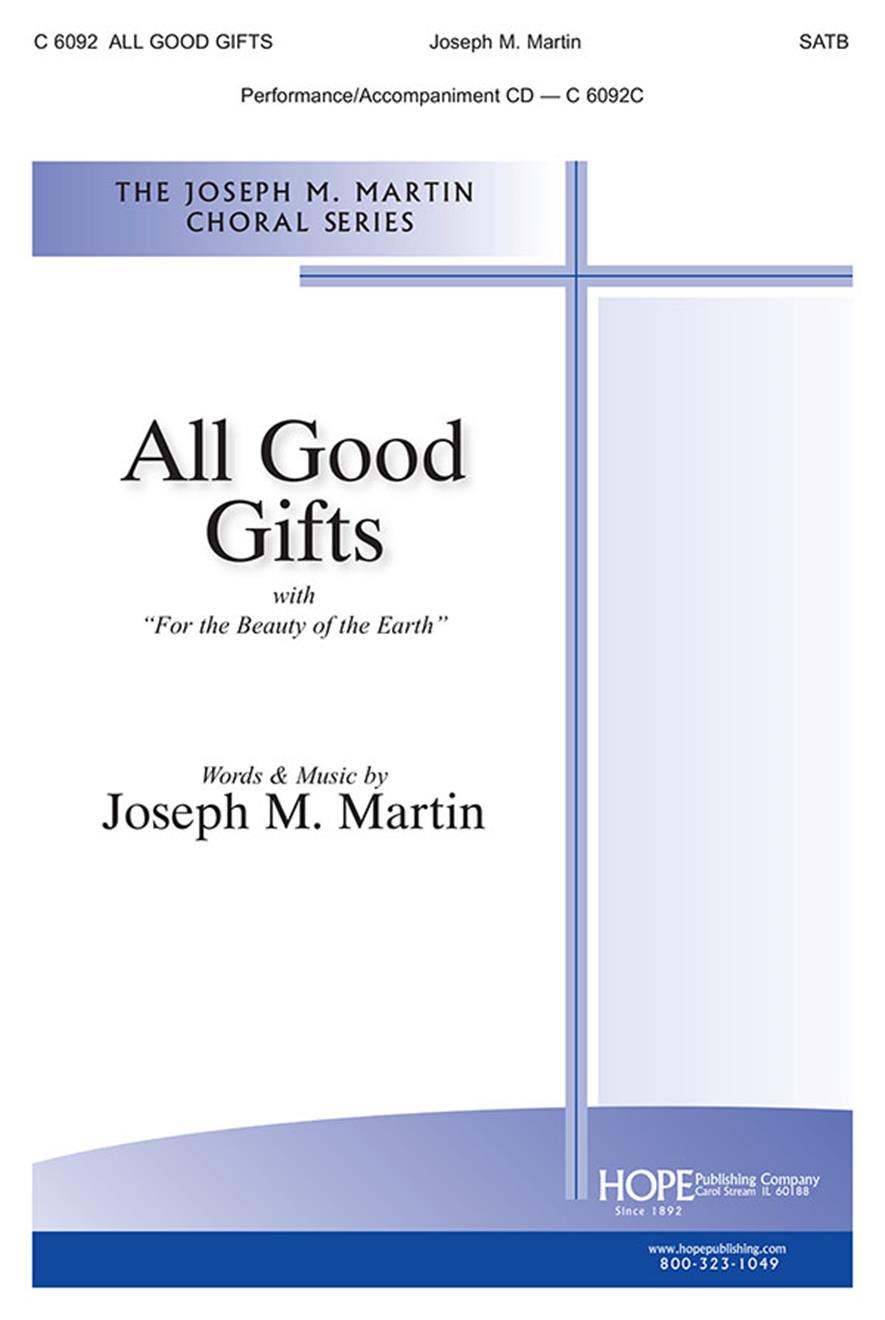 All Good Gifts - SATB Cover Image