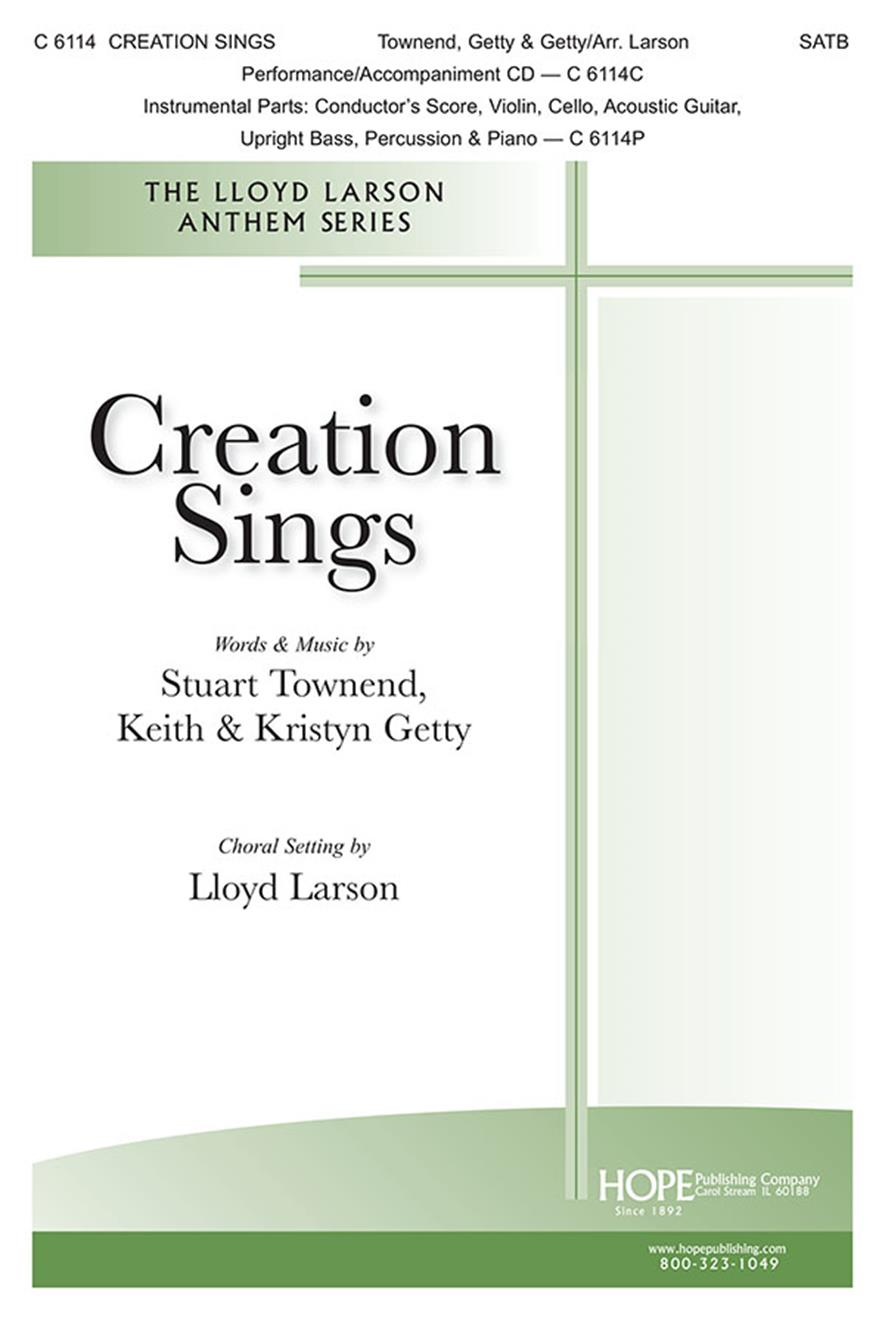 Creation Sings - SATB Cover Image