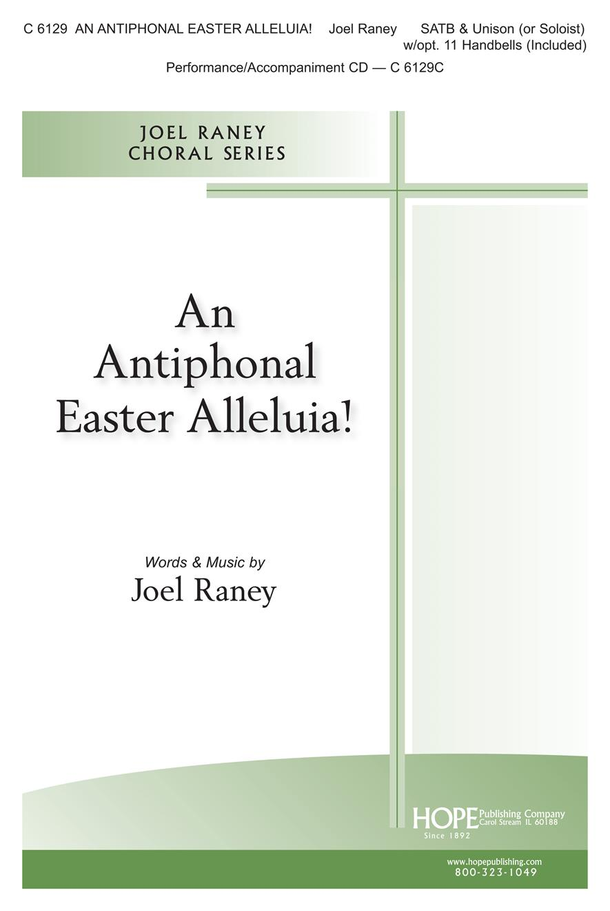Antiphonal Easter Alleluia An - SATB w- kids choir Cover Image