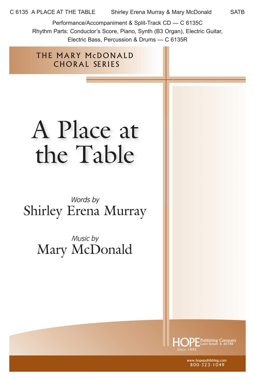 Place at the Table A - SATB Cover Image