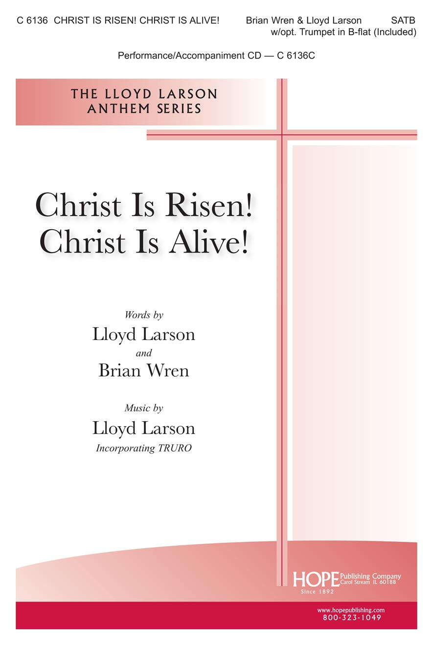 Christ Is Risen Christ Is Alive - SATB w- trumpet in C Cover Image