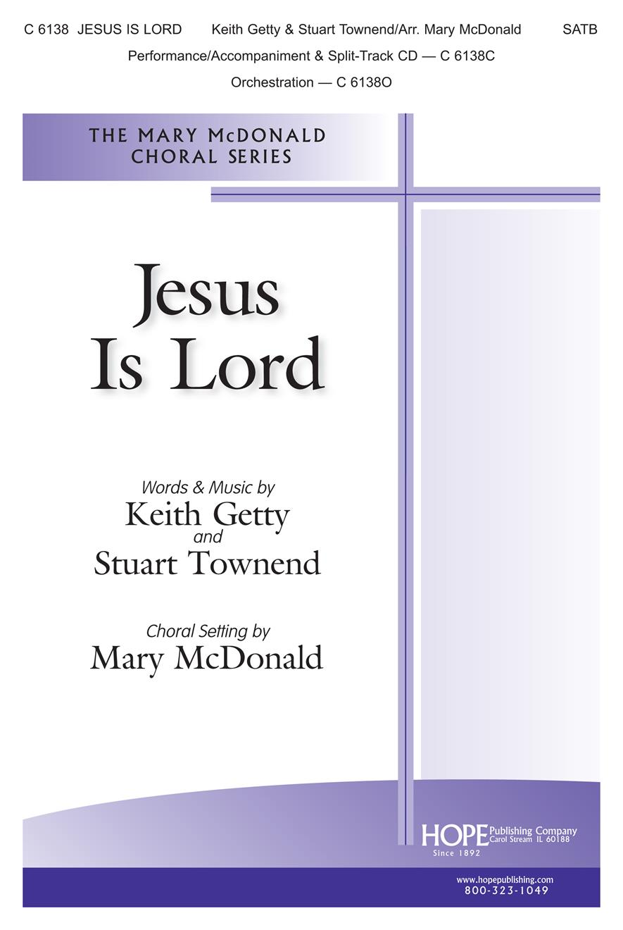 Jesus Is Lord - SATB Cover Image