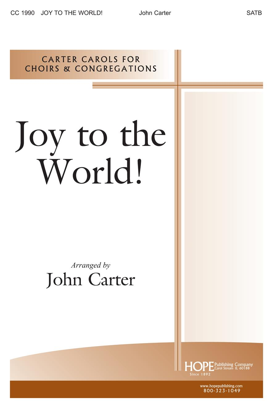 Joy to the World - SATB Flute and Violin Cover Image